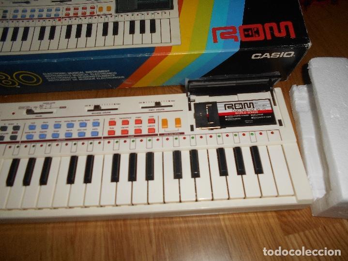 Instrumentos musicales: Teclado casio PT-80 rom+caja Original CON CAJA ORIGINAL FUNCIONANDO - Foto 2 - 161680610