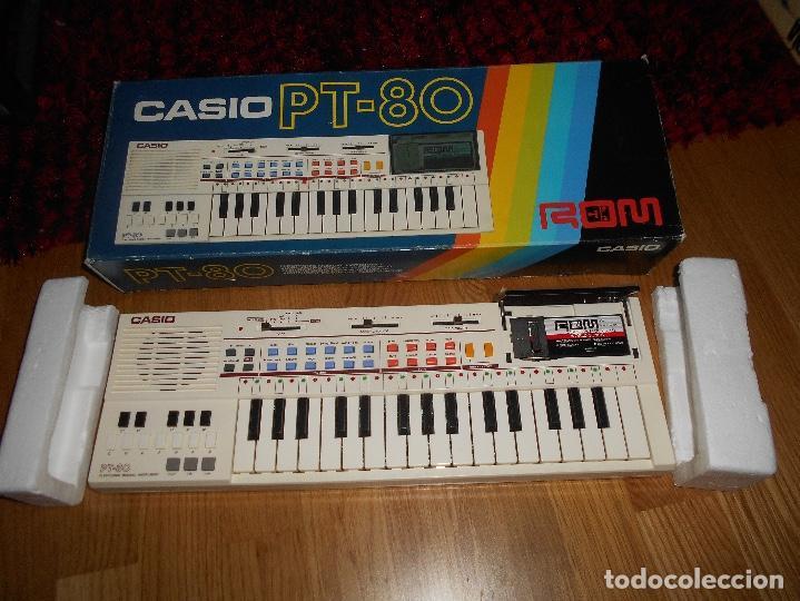 Instrumentos musicales: Teclado casio PT-80 rom+caja Original CON CAJA ORIGINAL FUNCIONANDO - Foto 3 - 161680610