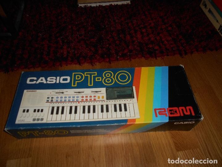 Instrumentos musicales: Teclado casio PT-80 rom+caja Original CON CAJA ORIGINAL FUNCIONANDO - Foto 5 - 161680610