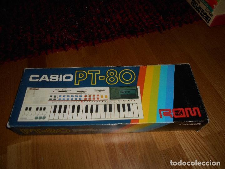 Instrumentos musicales: Teclado casio PT-80 rom+caja Original CON CAJA ORIGINAL FUNCIONANDO - Foto 6 - 161680610