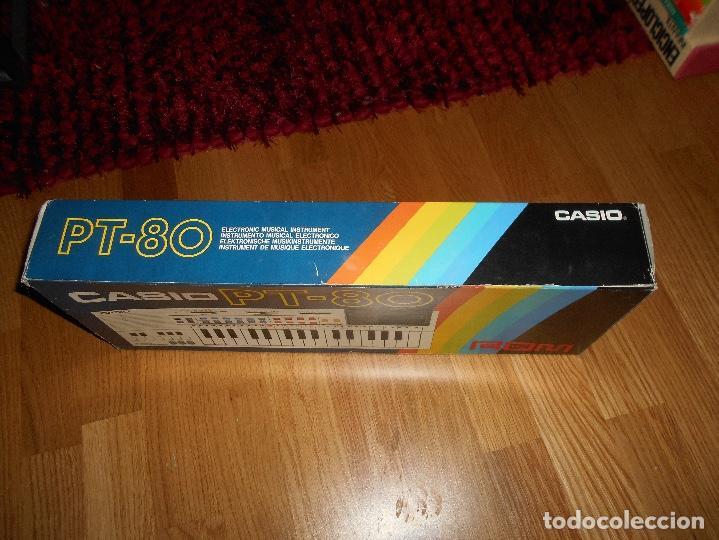 Instrumentos musicales: Teclado casio PT-80 rom+caja Original CON CAJA ORIGINAL FUNCIONANDO - Foto 7 - 161680610