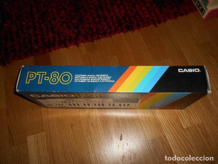 Instrumentos musicales: Teclado casio PT-80 rom+caja Original CON CAJA ORIGINAL FUNCIONANDO - Foto 8 - 161680610