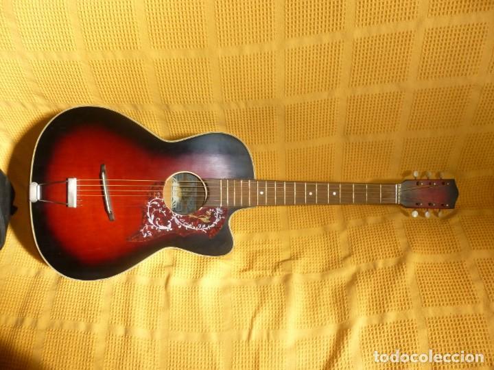 ANTIGUA GUITARRA JAZZ HORNSTEINER (Música - Instrumentos Musicales - Guitarras Antiguas)