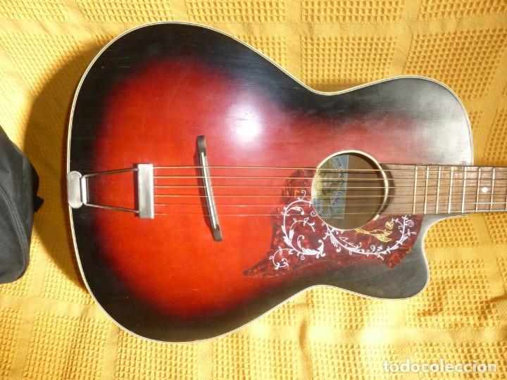Instrumentos musicales: Antigua Guitarra jazz Hornsteiner - Foto 2 - 161748934