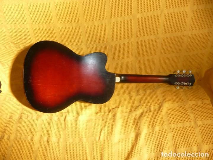Instrumentos musicales: Antigua Guitarra jazz Hornsteiner - Foto 3 - 161748934