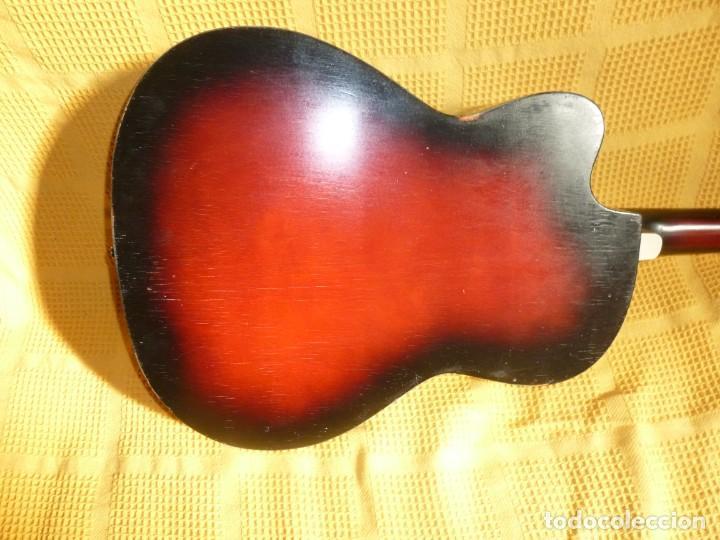 Instrumentos musicales: Antigua Guitarra jazz Hornsteiner - Foto 4 - 161748934