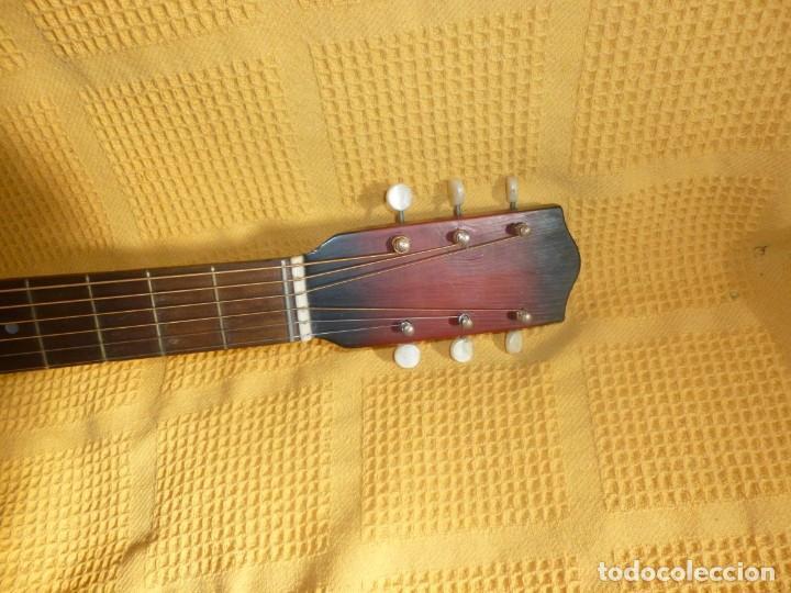 Instrumentos musicales: Antigua Guitarra jazz Hornsteiner - Foto 5 - 161748934