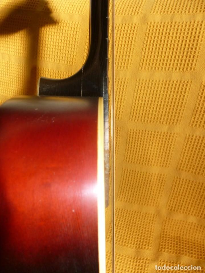 Instrumentos musicales: Antigua Guitarra jazz Hornsteiner - Foto 7 - 161748934