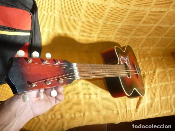 Instrumentos musicales: Antigua Guitarra jazz Hornsteiner - Foto 8 - 161748934