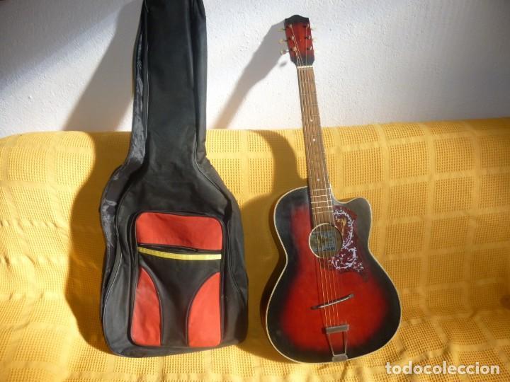 Instrumentos musicales: Antigua Guitarra jazz Hornsteiner - Foto 11 - 161748934