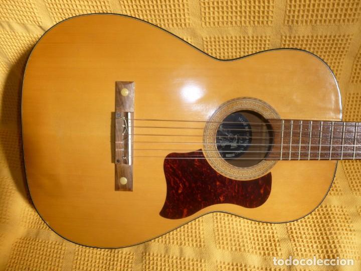 GUITARRA CLÁSICA ALEMANA HOPF 1973 (Música - Instrumentos Musicales - Guitarras Antiguas)