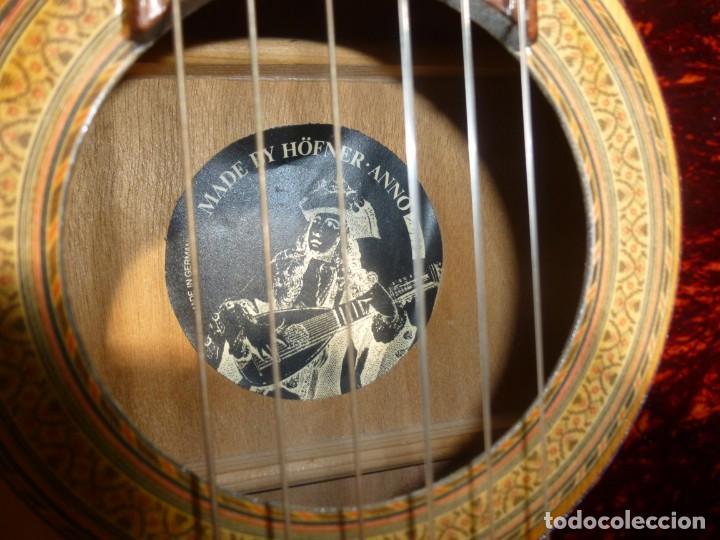 Instrumentos musicales: Guitarra clásica alemana Hopf 1973 - Foto 3 - 161749350