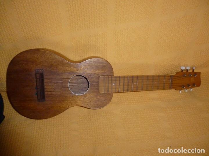 ANTIGUA GUITARRA OCTAVA BRUKO (Música - Instrumentos Musicales - Guitarras Antiguas)