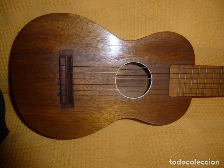 Instrumentos musicales: Antigua guitarra octava Bruko - Foto 2 - 161809758