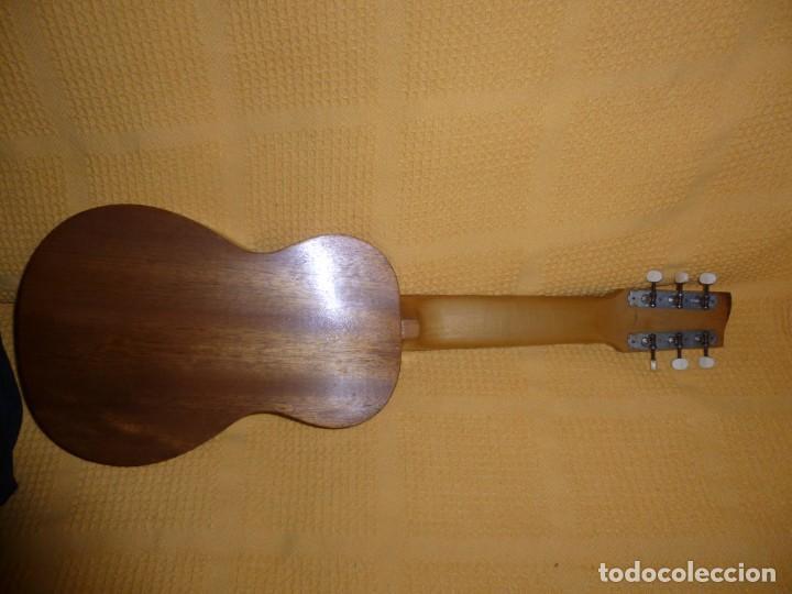 Instrumentos musicales: Antigua guitarra octava Bruko - Foto 4 - 161809758