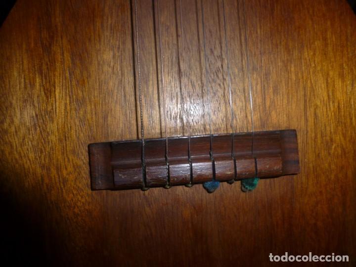 Instrumentos musicales: Antigua guitarra octava Bruko - Foto 5 - 161809758