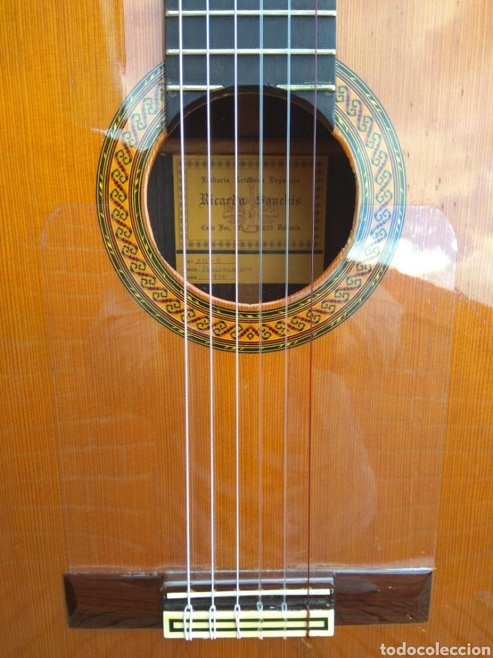 GUITARRA CLÁSICA ESPAÑOLA RICARDO SANCHÍS CARPIO. (Música - Instrumentos Musicales - Guitarras Antiguas)