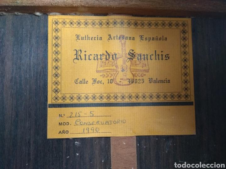 Instrumentos musicales: Guitarra clásica española Ricardo Sanchís Carpio. - Foto 3 - 162083009