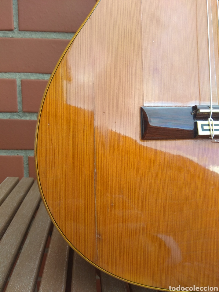 Instrumentos musicales: Guitarra clásica española Ricardo Sanchís Carpio. - Foto 5 - 162083009
