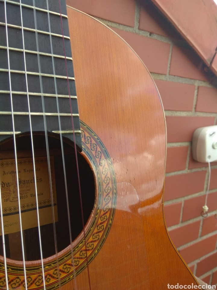 Instrumentos musicales: Guitarra clásica española Ricardo Sanchís Carpio. - Foto 6 - 162083009