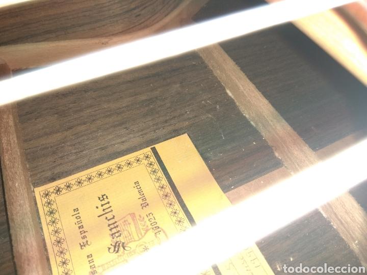 Instrumentos musicales: Guitarra clásica española Ricardo Sanchís Carpio. - Foto 34 - 162083009