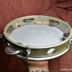 Instrumentos musicales: PANDEIRO BRASILEÑO GOPE AÑOS 70 PANDERETA BRASIL- 30 CM. Lote 162306410