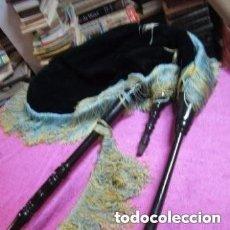 Instrumentos musicales: GAITA ASTURIANA O GALLEGA FUELLE DE PIEL ANTIGUA AÑOS 1920.. Lote 162333650