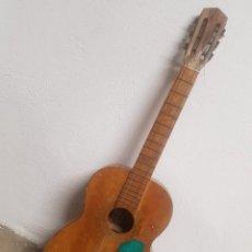 Instrumentos musicales: SINGULAR GUITARRA VALENCIANA DE HIJO DE ALFREDO MOMPÓ MULLOR DE ALACUÁS - VALENCIA. Lote 162471018