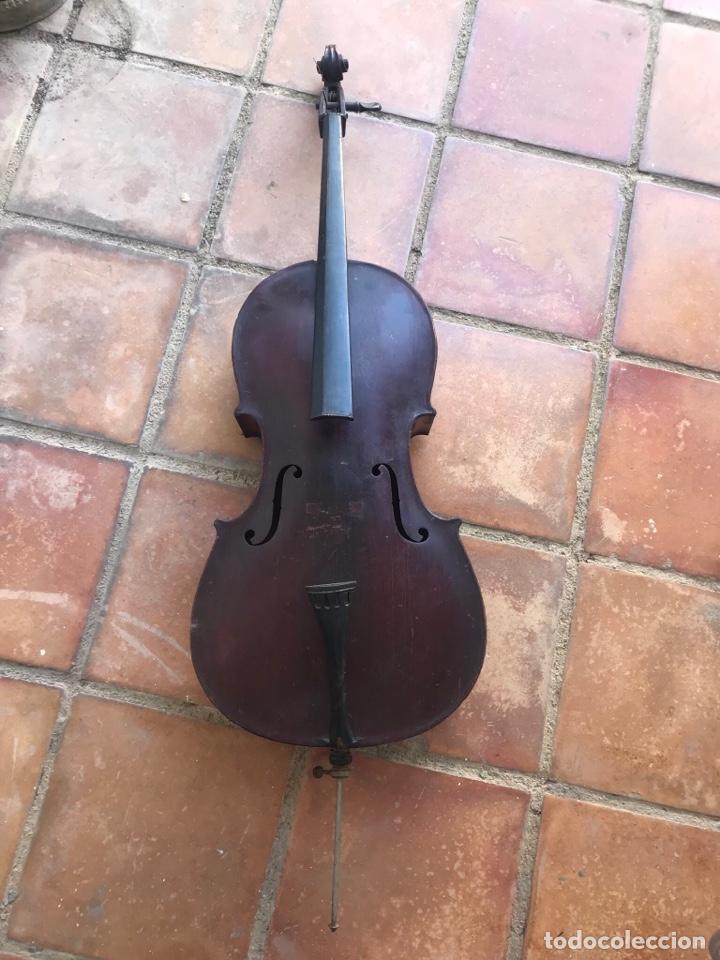 ELEGANTE VIOLONCHELO FINALES DEL S.XIX. VER FOTOS ANEXAS. (Música - Instrumentos Musicales - Viento Madera)
