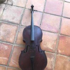 Instrumentos musicales: ELEGANTE VIOLONCHELO FINALES DEL S.XIX. VER FOTOS ANEXAS.. Lote 180107325