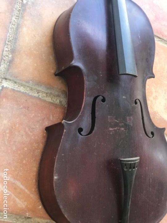 Instrumentos musicales: ELEGANTE VIOLONCHELO FINALES DEL S.XIX. VER FOTOS ANEXAS. - Foto 4 - 180107325