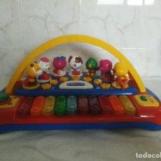 Instrumentos musicales: XILOFONO,PIANO MUSICAL CHICCO ANIMALES_. Lote 163112678