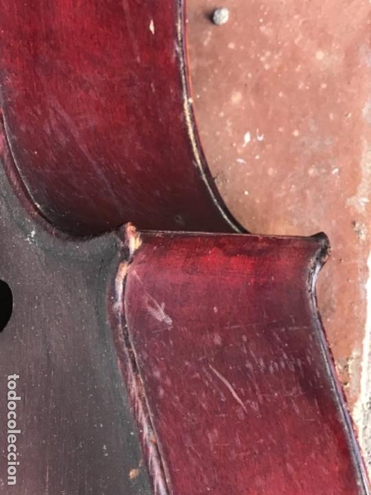 Instrumentos musicales: ELEGANTE VIOLONCHELO FINALES DEL S.XIX. VER FOTOS ANEXAS. - Foto 12 - 180107325