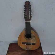 Instrumentos musicales: BANDURRIA CASA GONZALEZ, CALLE CARRETAS, 25 MADRID, DESDE 1868, CON SU FUNDA - PARA RESTAURAR-. Lote 163967438