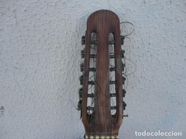 Instrumentos musicales: Bandurria Casa Gonzalez, calle carretas, 25 Madrid, desde 1868, con su funda - Para Restaurar- - Foto 11 - 163967438