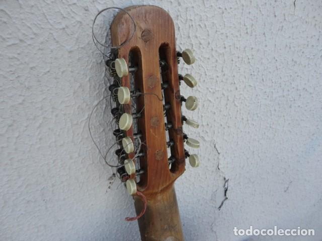 Instrumentos musicales: Bandurria Casa Gonzalez, calle carretas, 25 Madrid, desde 1868, con su funda - Para Restaurar- - Foto 22 - 163967438