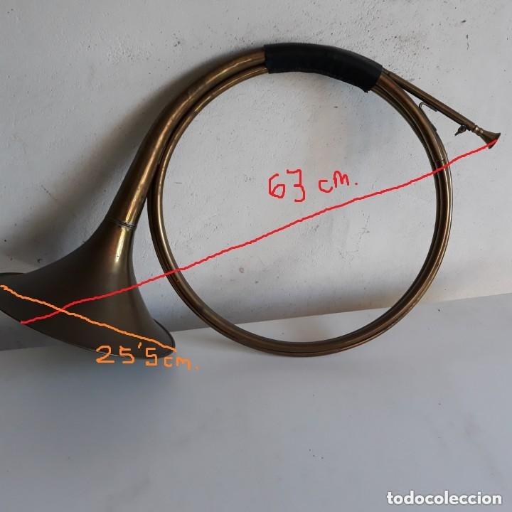 Instrumentos musicales: Trompeta o corneta de caza - Foto 5 - 132719582