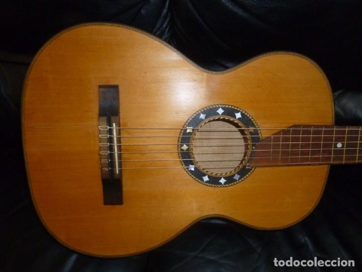 GUITARRA ALEMANA MEINEL&HEROLD (Música - Instrumentos Musicales - Guitarras Antiguas)