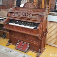 Instrumentos musicales: ARMONIO ANTIGUO 1900. ÓRGANO ANTIGUO, PIANO ANTIGUO, PROCEDENTE DE SUIZA.. Lote 164614910