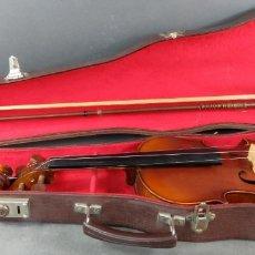 Instrumentos musicales: VIOLÍN COPIA DE UN ANTONIO ESTRADIVARIUS CREMONENSIS 1721 EN SU ESTUCHE ORIGINAL SIGLO XX. Lote 164681510