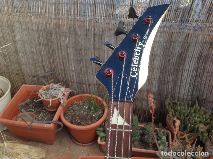 Instrumentos musicales: BAJO OVATION CELEBRITY BC-2 - ULTRA RARO BAJO DE CUERPO SÓLIDO DE OVATION .. - Foto 2 - 165145174