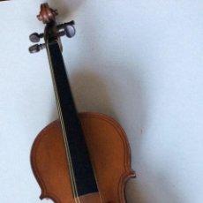 Instrumentos musicales: ANTIGUO VIOLÍN DE FINALES DEL SIGLO XIX,PRINCIPIOS DEL XX ,PAOLO MAGGINNI . Lote 165203078