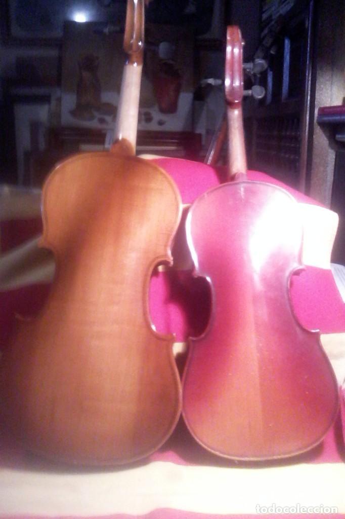 Instrumentos musicales: 2 VIOLINES . - Foto 6 - 165218538