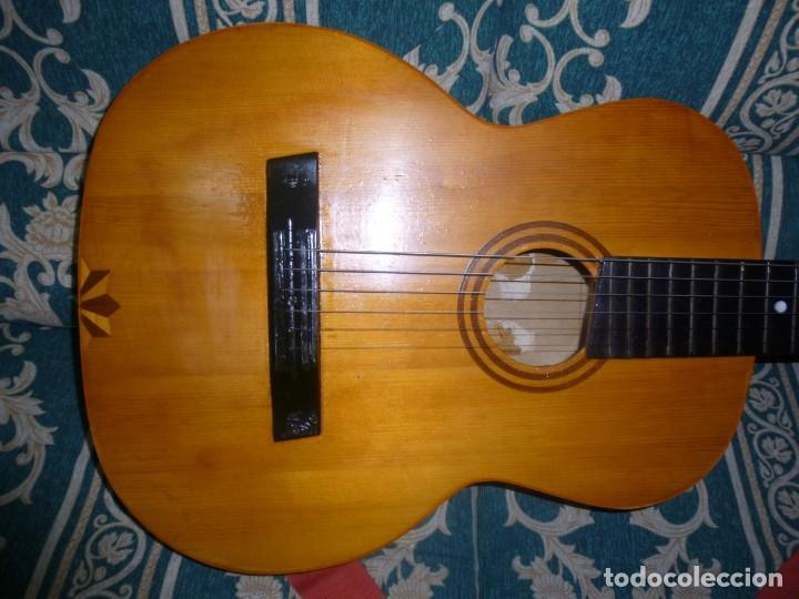 ANTIGUA GUITARRA ALEMANA (Música - Instrumentos Musicales - Guitarras Antiguas)