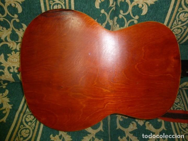 Instrumentos musicales: Antigua guitarra alemana - Foto 6 - 165348674