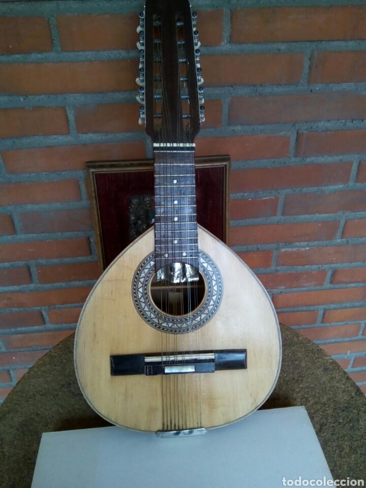 MAGNIFICA BANDURRIA DE VICENTE SANCHIS (Música - Instrumentos Musicales - Cuerda Antiguos)