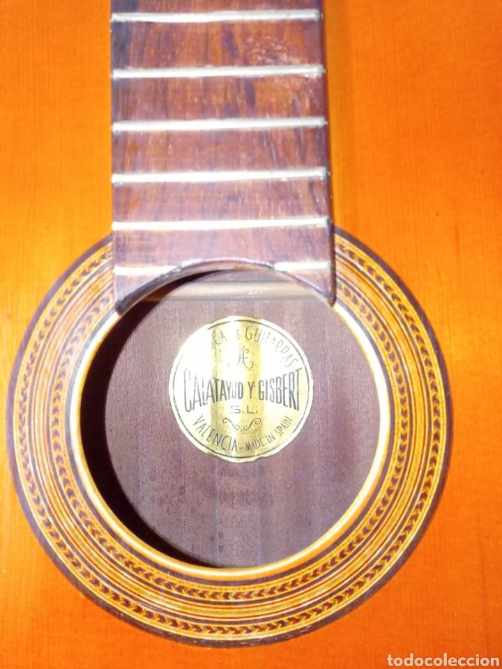 GUITARRA CALATAYUD Y GILBERT (Música - Instrumentos Musicales - Guitarras Antiguas)