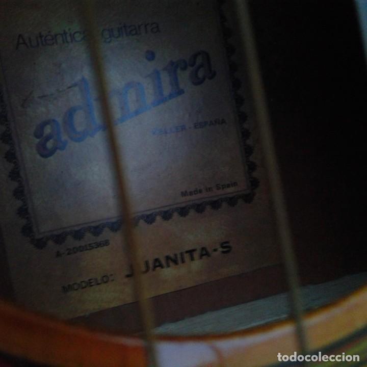 Instrumentos musicales: Antigua guitarra clásica admira Juanita - Foto 17 - 165695802