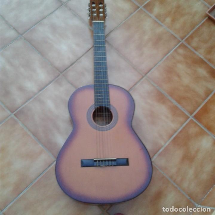 Instrumentos musicales: Antigua guitarra clásica admira Juanita - Foto 19 - 165695802