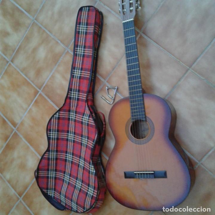 Instrumentos musicales: Antigua guitarra clásica admira Juanita - Foto 23 - 165695802